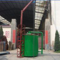 可加工订制吊装炭化炉 环保气流式机制炭化炉 自然式原木炭化炉