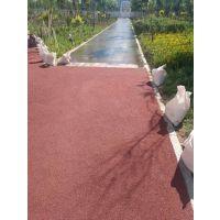 克拉玛依市厂家供应停车场彩色透水地坪 耐压透水路面 防滑道路施工
