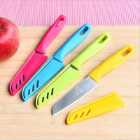 水果刀 不锈钢瓜果削皮刀厨房户外便携小刀 烧烤工具