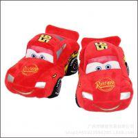 汽车总动员闪电麦昆毛绒玩具红汽车公仔儿童赛车布娃娃毛绒玩偶
