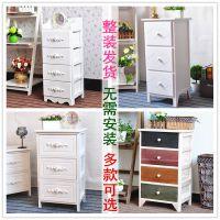 实木床头柜卧室床边柜木质收纳柜简约现代储物柜抽屉式客厅小柜子