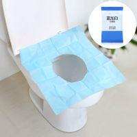 10片装防水防菌一次性马桶垫纸 旅行便携坐便垫纸加厚马桶坐垫纸