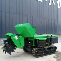 各种山地用多功能开沟机 履带施肥机黑土地专用 果园管理机自走式