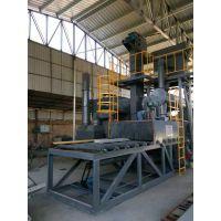 广西喷砂机 通过式抛丸机钢管表面去氧化层处理