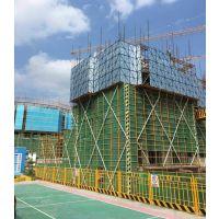 建筑工地墙网米字型冲孔爬架网防坠外架脚手架网片新型施工安全防护网