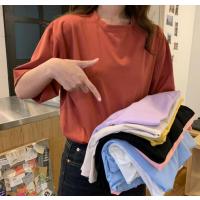 5元t恤批发纯棉小衫女装大码T恤库存服装几元尾货批发工厂
