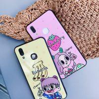 可爱香蕉男孩iphone7草莓女孩plus钢化玻璃手机壳r9卡通x20p硅胶