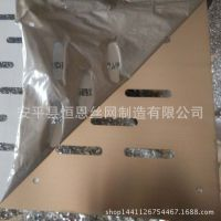 铁筛网 数控冲孔金属板网片 罗底筛网 面包机体外散热通风网