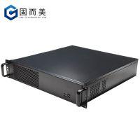 2u钣金机箱2U工控服务器机箱3硬盘位支持ATX PSU电源 支持ATX主板
