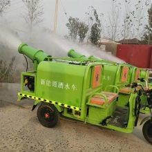 物业小区除尘雾炮车 志成小型电动三轮洒水车 环卫绿化电动洒水车