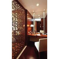 通花专业定制中式风格雅致书房隔断装饰通花板镂空板