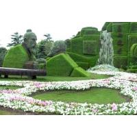 仿真绿雕、佛甲草 五色草真植物绿雕 灯光造型 佛甲草定制成都