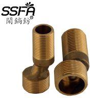 厂家特批淋浴龙头新款铜加厚变径曲角偏角加长加厚6CM耐用弯角