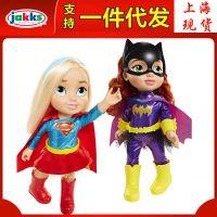 杰克仕DC超级女英雄美少女玩偶女侠蝙蝠女神力女超人公主娃娃玩具