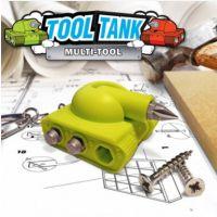 TOOLTANK MULTI-TOOL 创意坦克钥匙扣 螺丝刀/批工具三合一套装