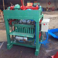 半自动小型制砖机 建筑垃圾免烧水泥砖机 厂家供应空心砌块机设备