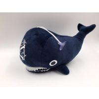 鲨鱼玩具 毛绒公仔 海盗鲨鱼鲸鱼 海贼王乔巴玩具抓机娃娃