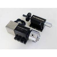 迷你数控分度盘 小型数控分度头 小型四轴数控钻床