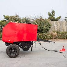 安徽自走式小麦秆打捆机耐用 小麦秸秆小型捡拾打捆机价格实惠