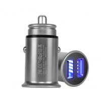 中山市能量块电子有限公司 铝合金汽车USB充电器