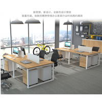 简约现代屏风工位四人位办公家具电脑办工职员桌