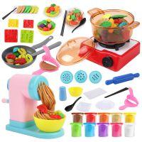 儿童动手DIY玩具 大麦制安全过家家彩泥粘土玩具 高品质益智玩具