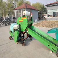 志农牌ZN-5552型秸秆打捆包膜机价格 青贮饲料包膜机厂家