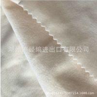 现坯边纶布厂家批发经编针织圈绒布 保暖天鹅绒面料 秋季