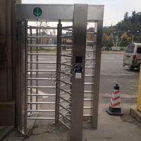 小区人脸识别全高闸机小区出入口安全通道管理门禁系统-安凡科技