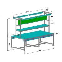 铝合金型材双面防静电工作台