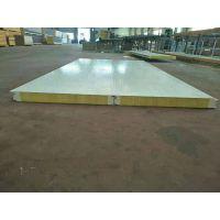 四平彩钢聚氨酯保温板冷库板960-1000型聚氨酯封边岩棉夹心板