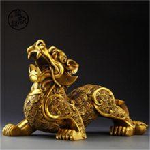 招财铜貔貅雕塑-博轩雕塑厂-云南招财铜貔貅