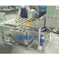 厂家直销亿邦牌气泡清洗机,蔬菜清洗机 ,草莓清洗机