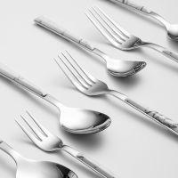 /名大理石品创优纹不锈钢餐具家用西餐刀叉汤勺餐饮用具