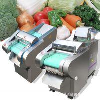 小型果蔬切片机切丝机 不锈钢电动切菜机 喂鸡喂猪用切块机切丝机