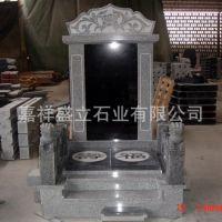 定制中国黑高档刻字石碑 大理石殡葬用品墓碑 可批发