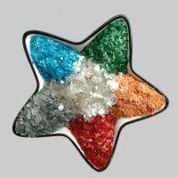 厂家批发 天然彩色云母碎 农药专用 绢云母 涂料 塑料 干法