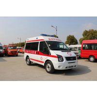 厂家直销福特全顺V348国V救护车 监护型救护车