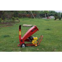 柴油动力碎叶机 硬秸秆切碎粉碎机 多用途木屑破碎机生产