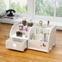 收纳盒化妆品置物架大学生桌面寝室宿舍简约桌上小号小型迷你