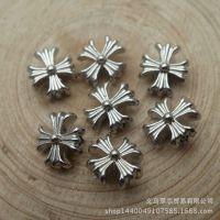 合金配件 9*8*5mm 百合花串珠 花朵 扁珠串珠 速卖通货源 12905