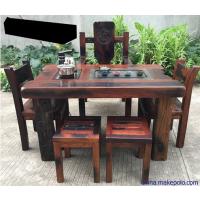 老船木茶桌椅组合客厅功夫茶几阳台小型泡茶桌中式仿古茶艺桌厂家直销
