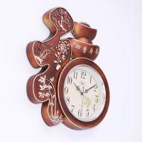 现代静音卧室挂钟客厅钟表时尚个性石英钟挂表简约时钟创意
