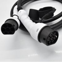 汽车连接器圆形充电枪欧标插头插座美标16A/32A线缆长度任选
