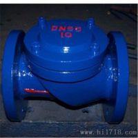 HC44X 全衬丁腈橡胶止回阀 HC44X-16 DN150 铸铁升降式水平瓣止回阀