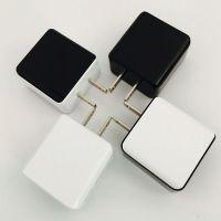 美规usb充电头2a 手机充电器插头双usb充电头 通用usb手机充电器