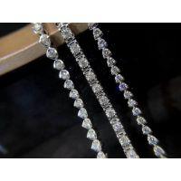 长期批发供货钻石手链保真免费设计代工品质优价格优惠款式多样可加LOGO