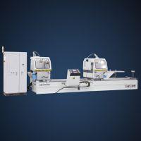 派克机器铝型材双角数控超效切割锯 LJZ2-CNC-E500