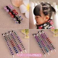 韩式儿童发饰头饰饰品小女孩发夹公主盘发的发卡女童可爱宝宝抓夹