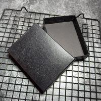 驾驶证皮套礼盒 行驶证卡包包装盒 钱包黑色长方形纸盒礼品盒定做